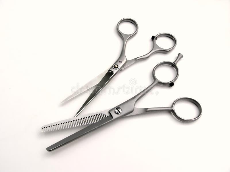 2 nożyczki fotografia stock