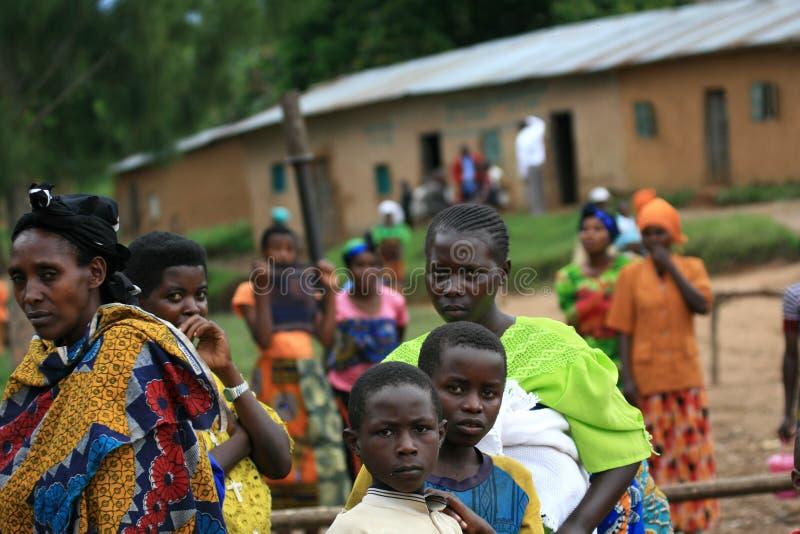 2 novembre 2008. Rifugiati dal Dott Congo fotografie stock
