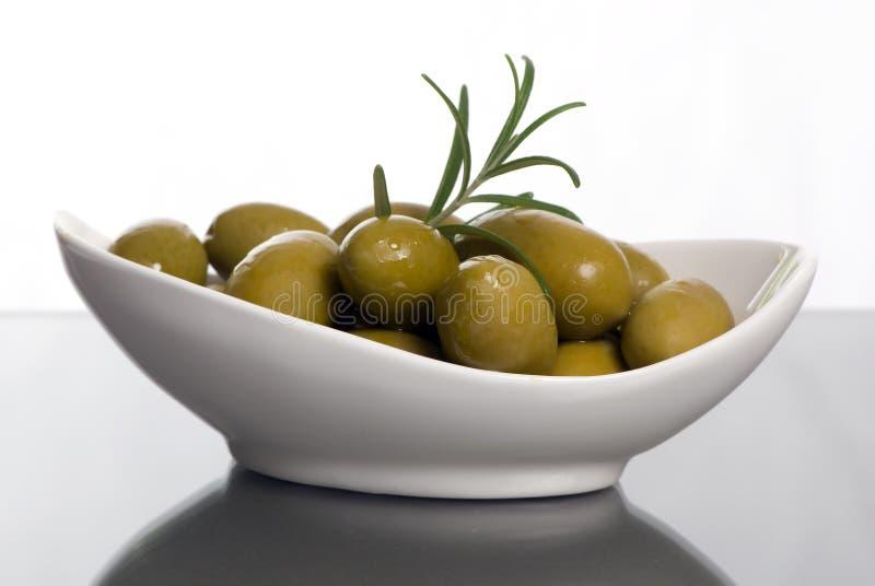 2 olivgrön arkivbild