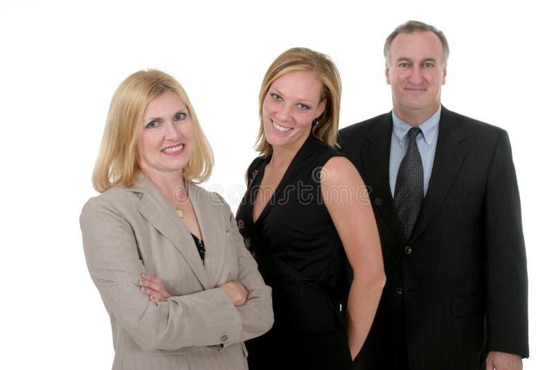2 osobę drużyna trzecia przedsiębiorstw obraz stock