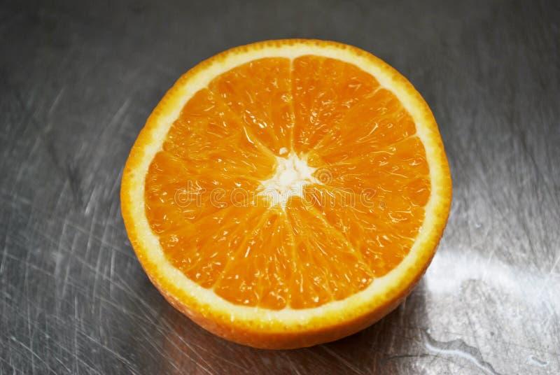 2 owocowa pomarańcze zdjęcie stock