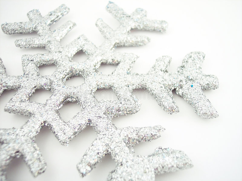 2 płatek śniegu obraz stock