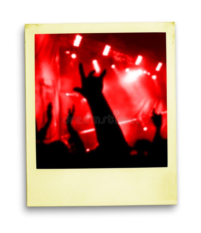 2 pamięci koncertów żyje zdjęcie zdjęcie stock