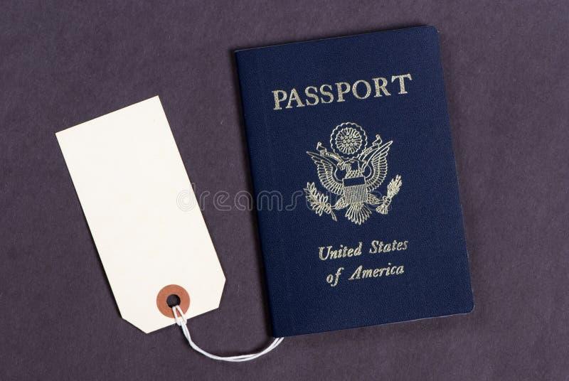2 paszportów sprzedaży obrazy stock