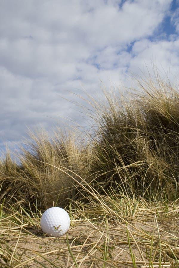 2 piłka diun golf obrazy stock