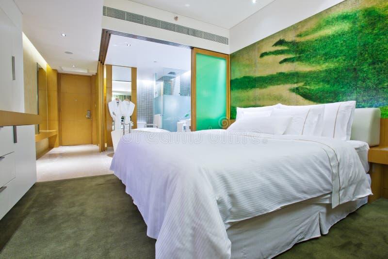 2 pokój hotelowy obraz royalty free