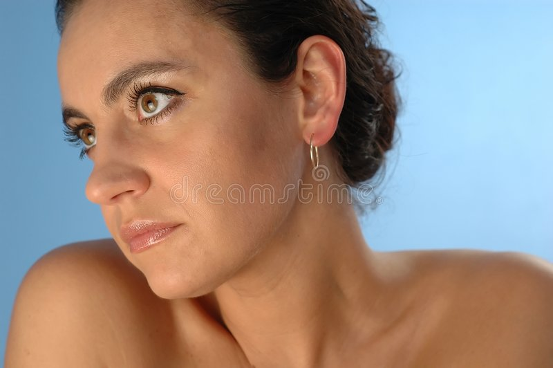 Download 2 portretów kobieta zdjęcie stock. Obraz złożonej z osoba - 125600