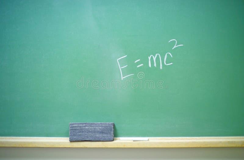 2 równanie mc2 e obraz stock