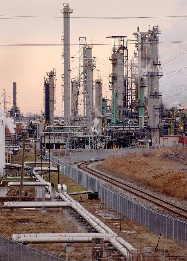 2 rafineryjny skomplikowanych zdjęcie stock