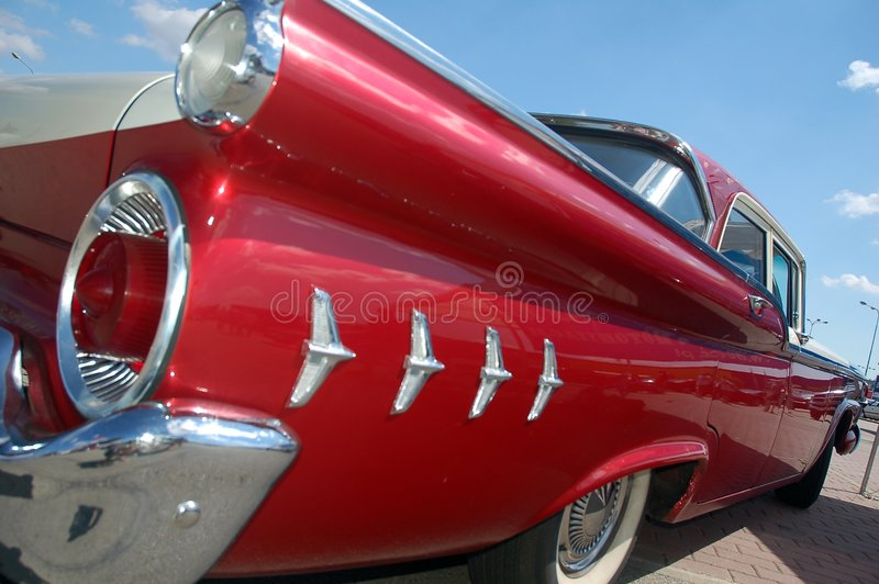 2 samochodów klasyk obraz royalty free