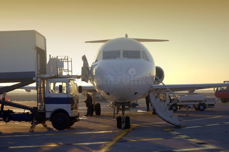 2 samolot. zdjęcia stock