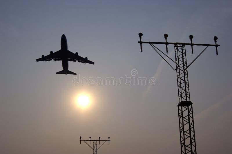 2 samolot. obraz royalty free