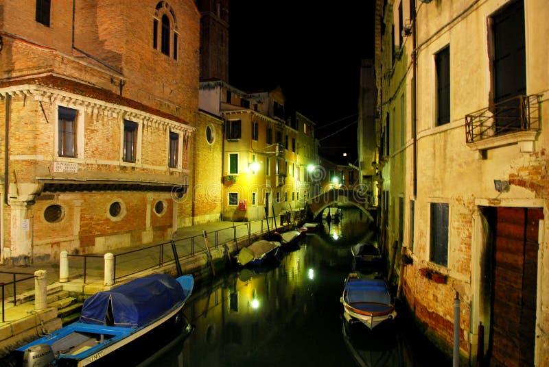 2 scena venecian nocy zdjęcie stock