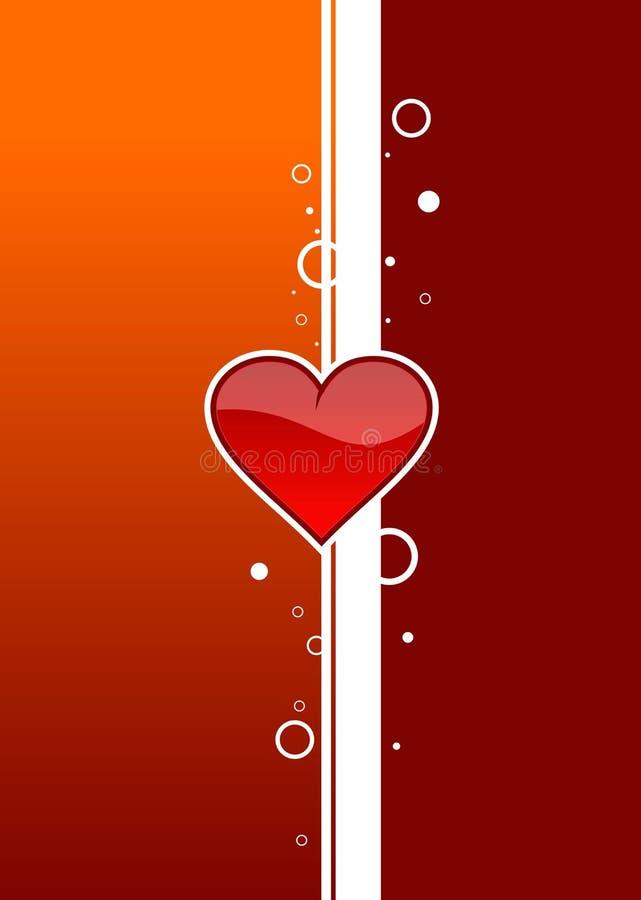 2 serce ilustracji