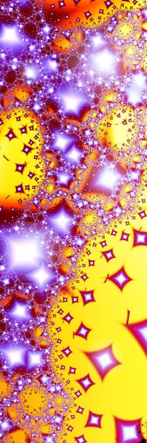 2 shooting star vektor illustrationer
