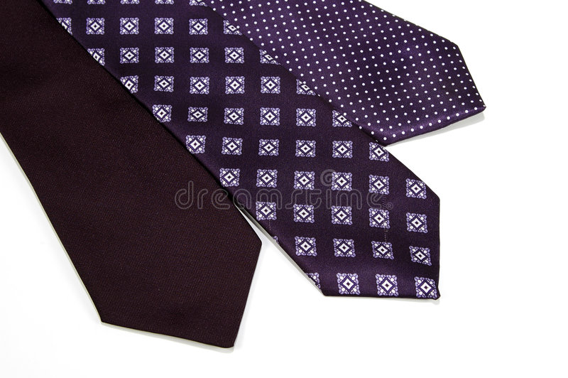 2 slipsar arkivfoto