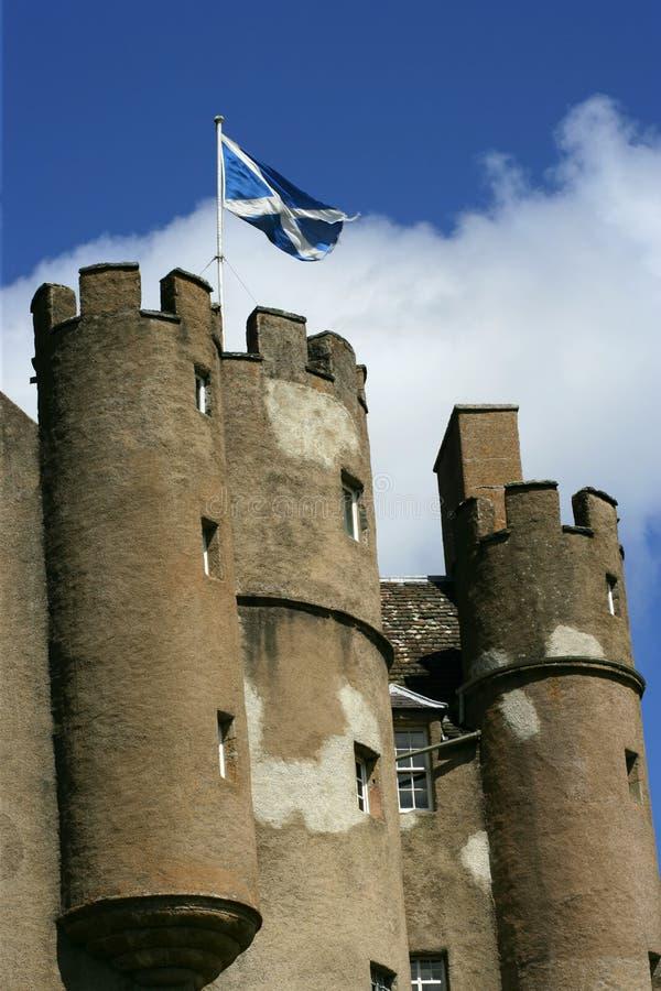 2 slott scotland arkivbilder