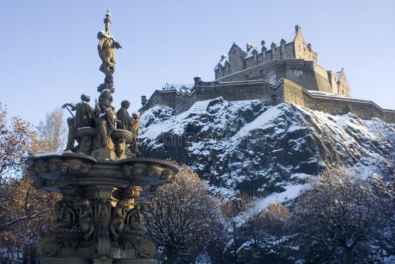 2 slottträdgårdar royaltyfri fotografi