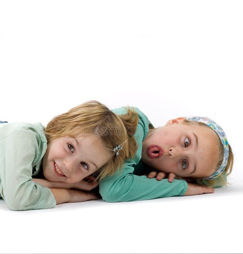 2 soeurs image stock
