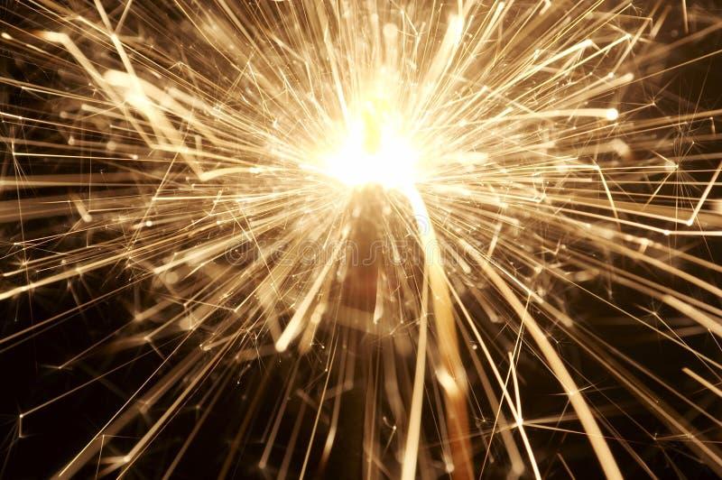 2 sparkler zdjęcia stock