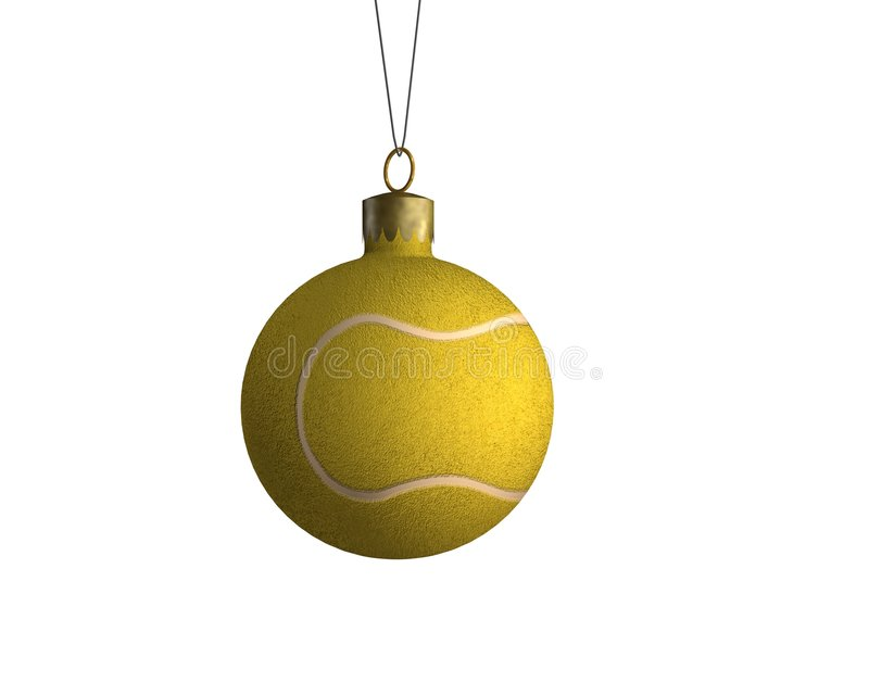 2 sporths σφαιρών Χριστουγέννων ελεύθερη απεικόνιση δικαιώματος