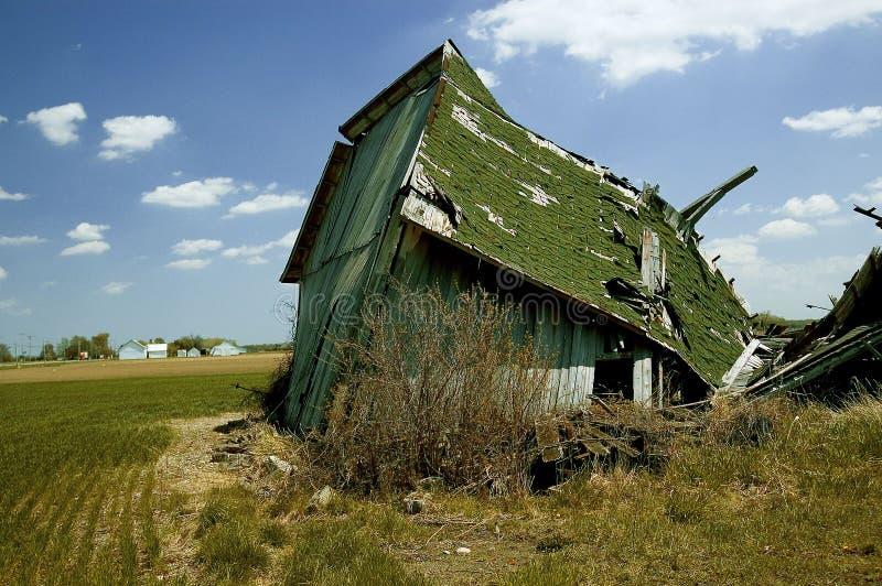 2 starej stodole fotografia stock