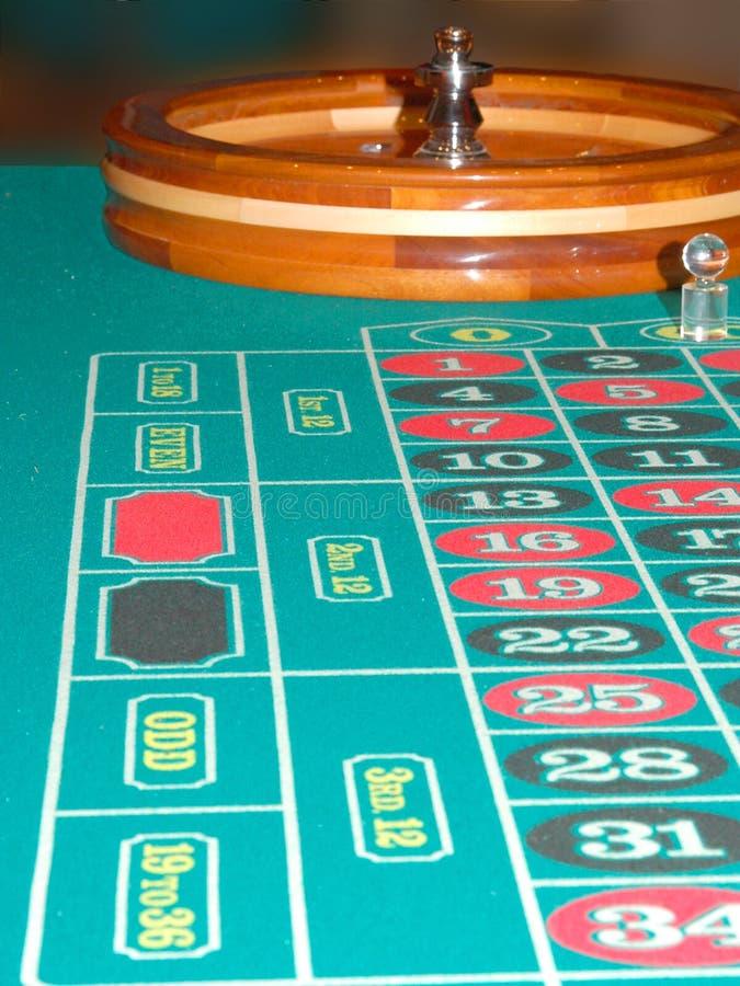 2 Stolik Rulet Fotografia Royalty Free