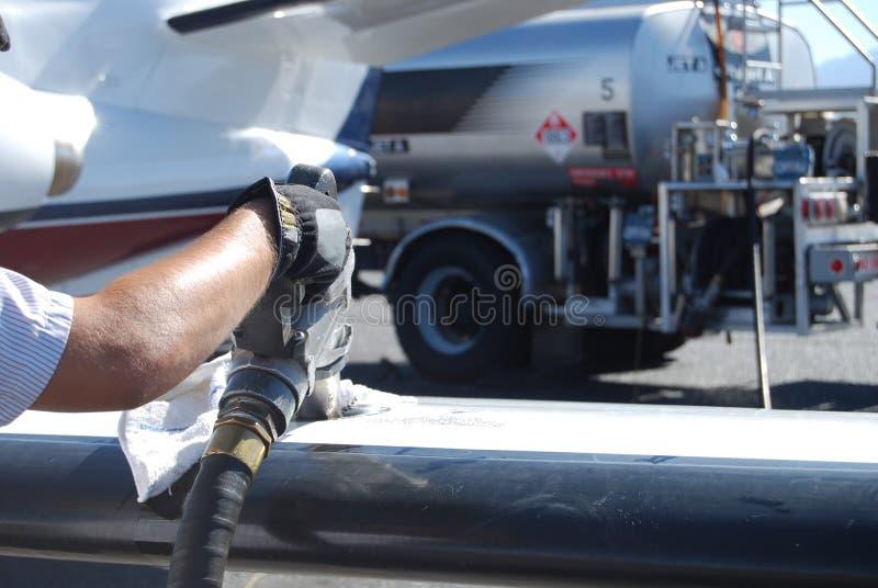 2 strumieni paliwa zdjęcia royalty free