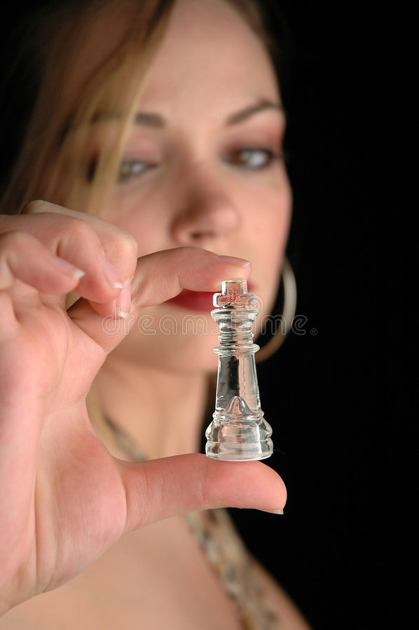 2 szachów kawałki zdjęcie royalty free