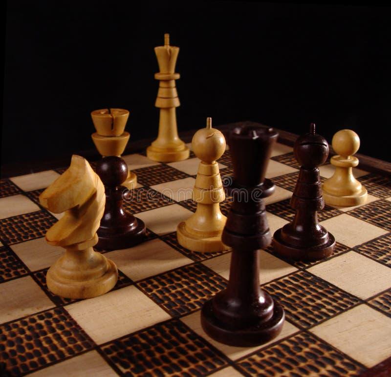 2 szachy zdjęcie royalty free