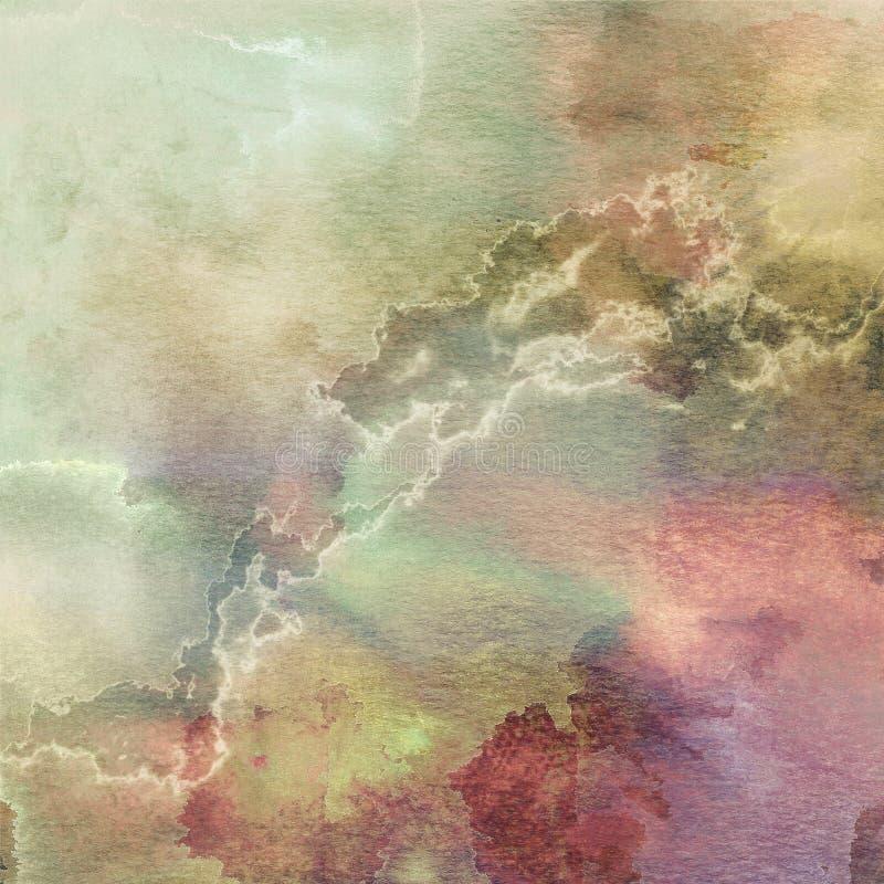 2 tło abstrakcjonistyczny pastel ilustracja wektor