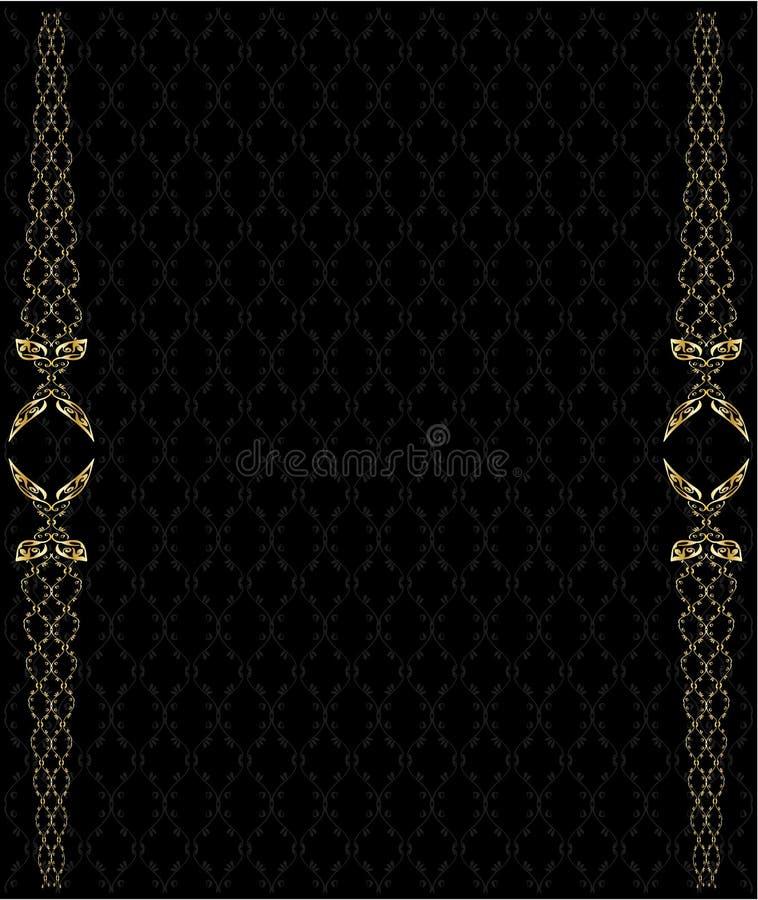 2 tło elegancki złoto ilustracji