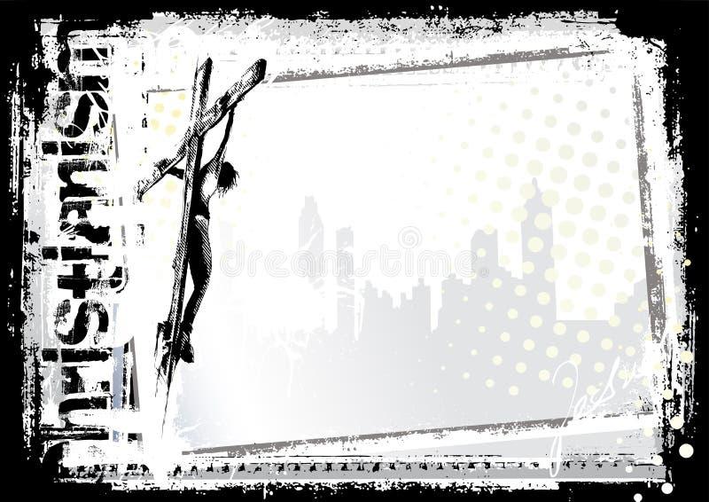 2 tło Jesus royalty ilustracja