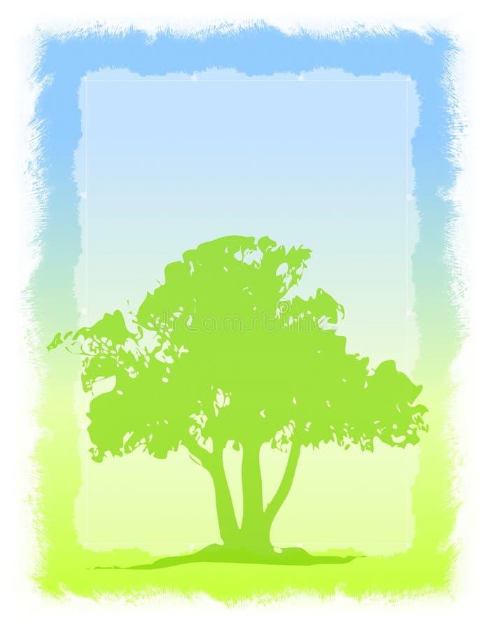 2 tło textured drzewo royalty ilustracja