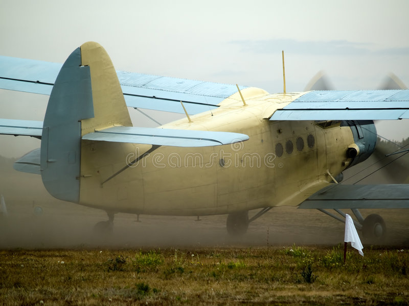 Download AN-2 Taxiing Stock Image - Image: 6405301