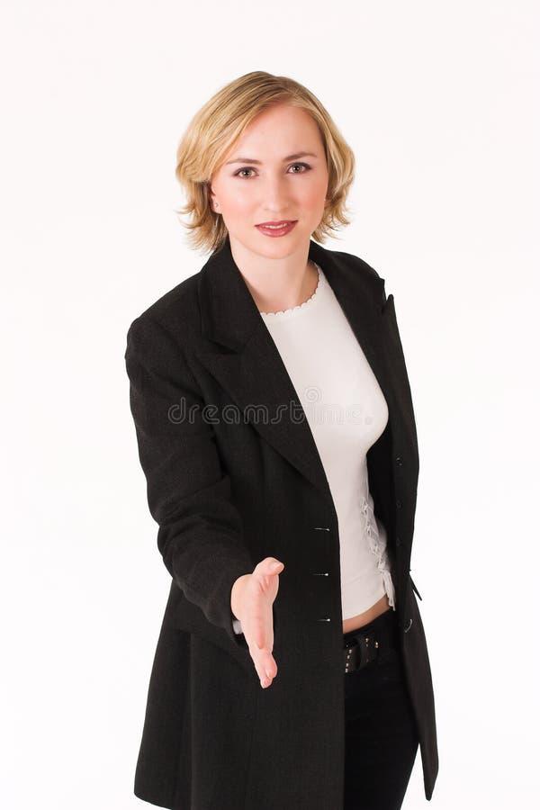 2 uścisk dłoni fotografia stock