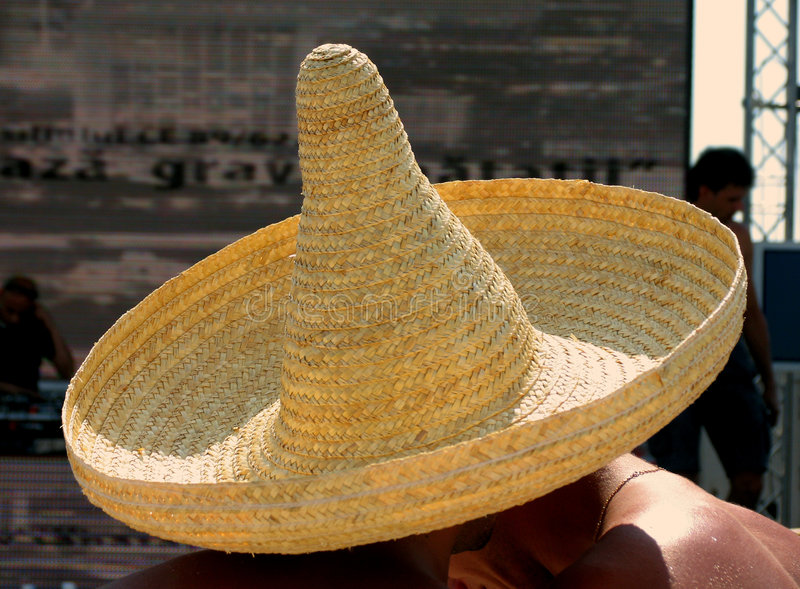 Download 2 Under 1 Mexican Hat Royalty Free Stock Images - Image: 192589