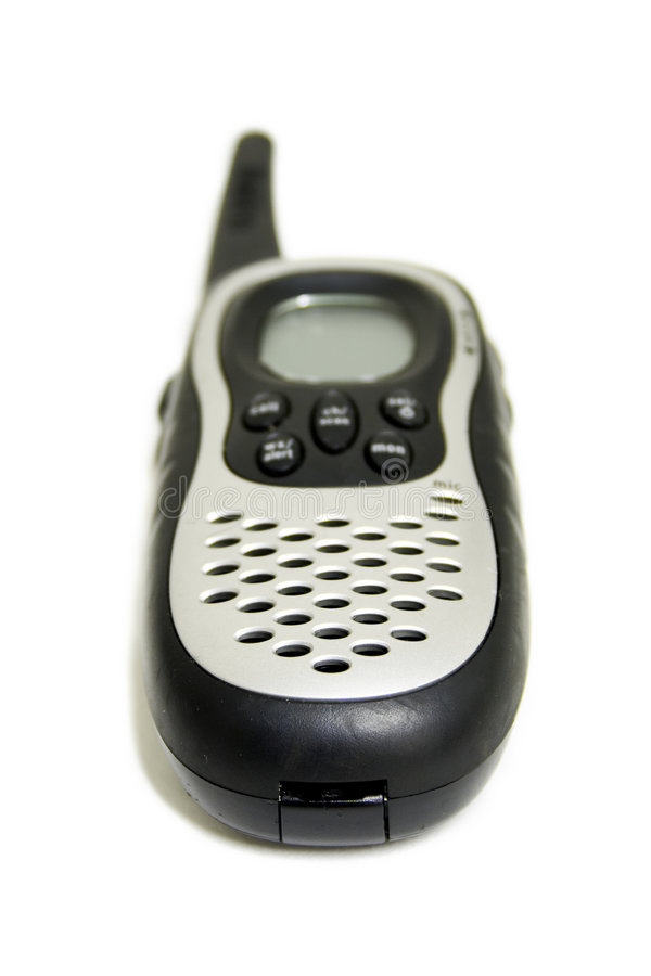 Download 2-way radio stock image. Image of walky, device, black, communications - 44027