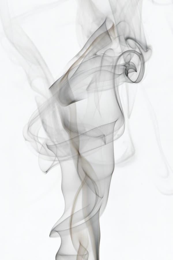 2 whispy dymu zdjęcie royalty free
