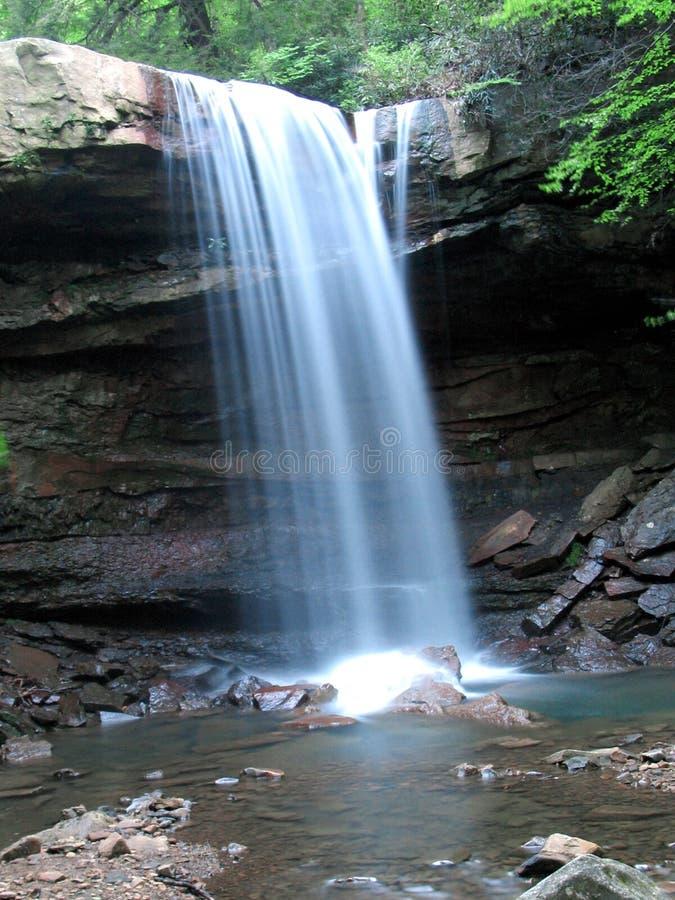 2 wodospadu obrazy royalty free