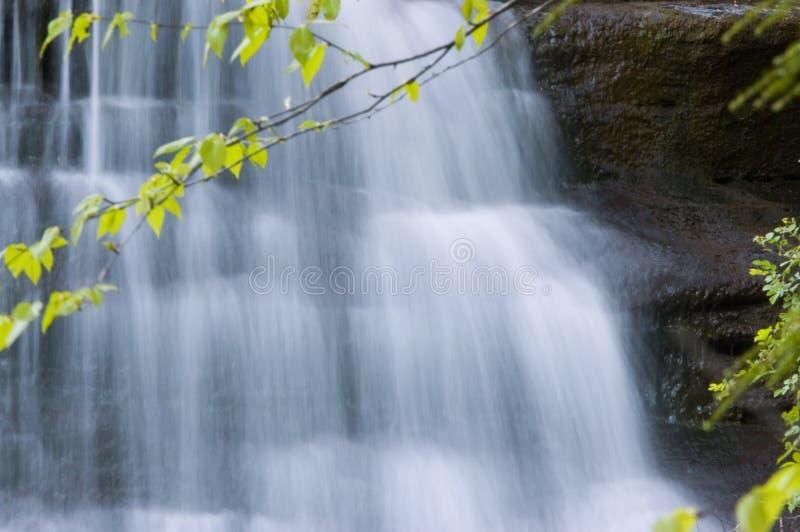 2 wodospadu zdjęcie royalty free