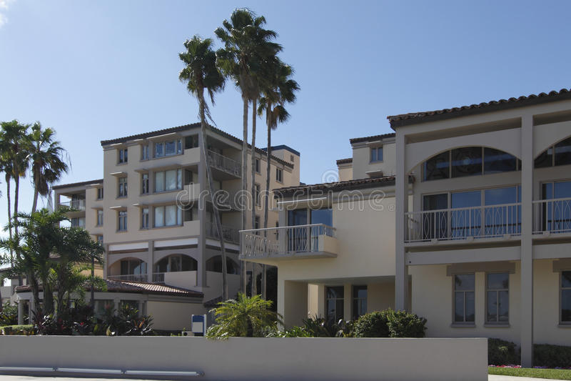 2 wpb plażowy palmowy uniwersytecki Atlantic zdjęcia royalty free