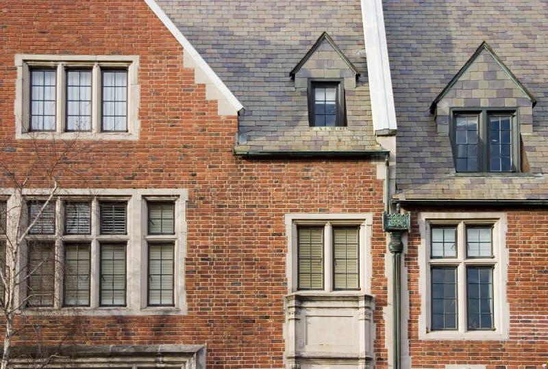 2 wymyślnych dom obrazy royalty free