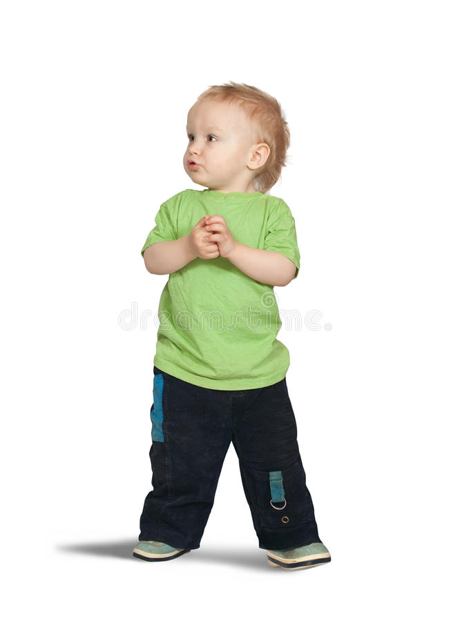 2 years old boy royalty free stock image