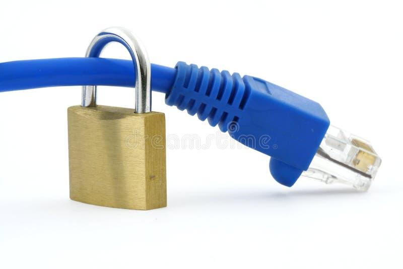 2 zabezpieczenia internetu obrazy stock
