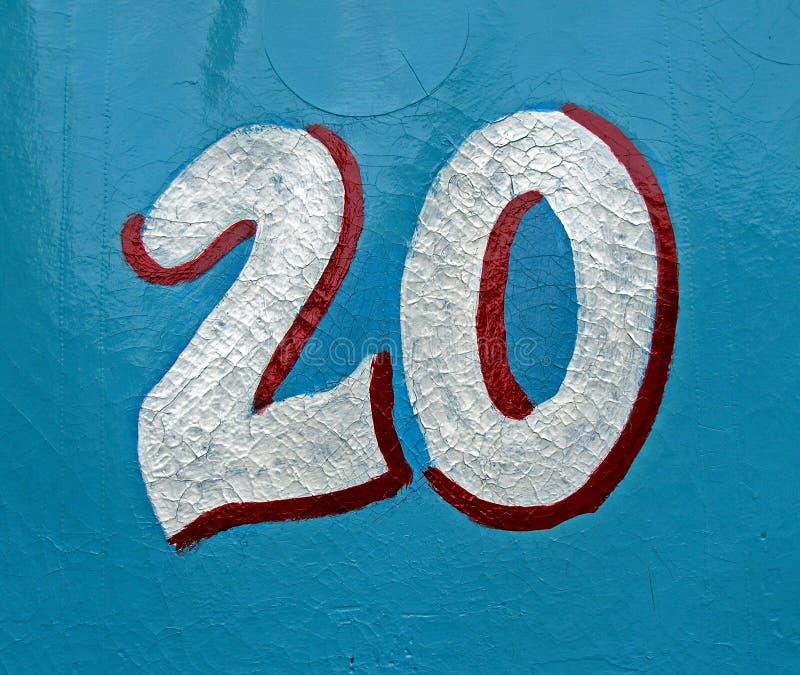 20没有 免版税库存图片