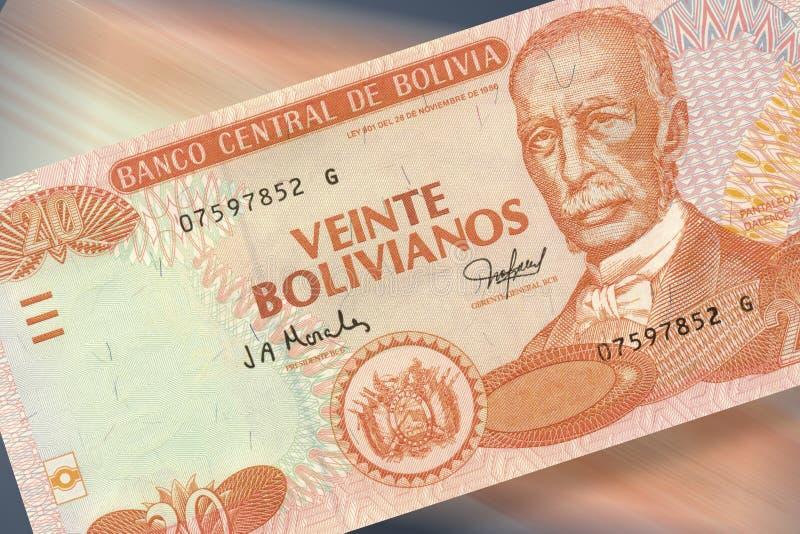 20 песо bolivianos стоковые изображения