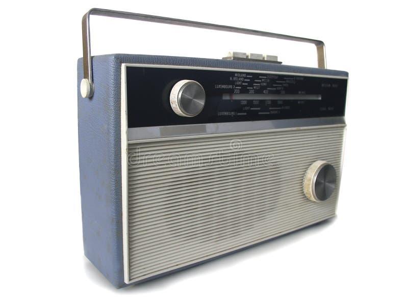 20世纪60年代收音机 免版税库存照片