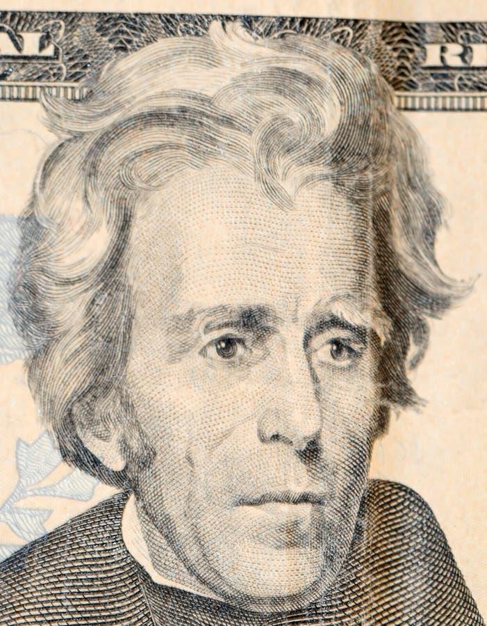 $20 billet d'un dollar photographie stock libre de droits