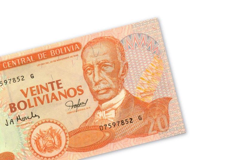 20 bolivianos de pesos photo stock